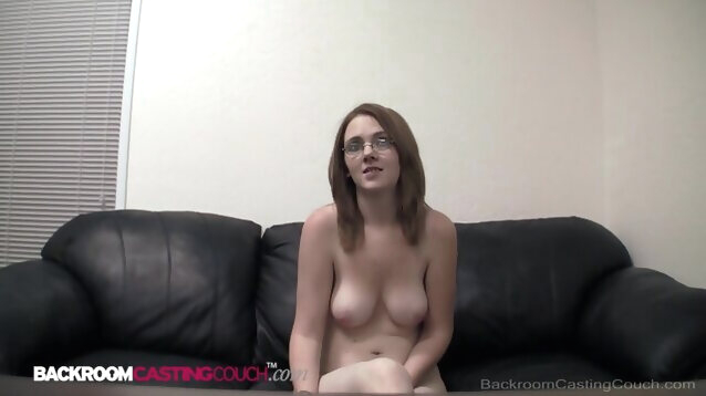 anal amateur Four Eyed Teen Morgan Gets Butthole Pussy & Mouth Fucked In Interview!
